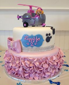 Paw Patrol cake for a girl                                                                                                                                                                                 More