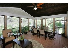 Great deck for entertaining! So much space. 719 East Monroe Avenue, St Louis, MO 63122.