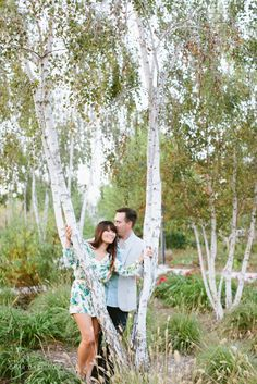 2014_Phuong and Stephen Engagement Shoot | Dear Darling Photography | Nature | Trees | Ladera Ranch | Couples Shoot