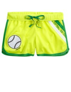 Sports Mesh Track Shorts | Girls Shorts Bottoms | Shop Justice
