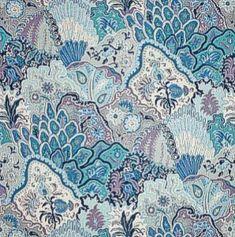 Clarence House JAIPUR BLUES Fabric