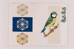Kintaro Ishikawa, a Bird with Lovely Pattern on ArtStack #kintaro-ishikawa #art