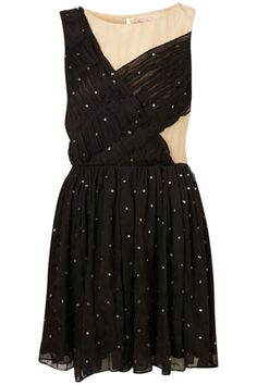 DIAMANTE PINSPOT PROM DRESS BY DRESS UP TOPSHOP**