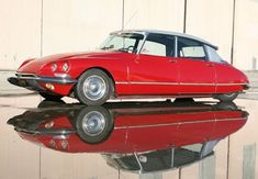 Citroen DS21: quintessentially French. Forward-thinking, undeniably chic, and very, very weird.