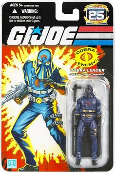 25th Anniversary GI Joe Hooded Cobra Commander (MIB) by Second Time Around Toys, via Flickr