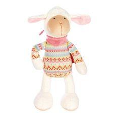 sigikid - Bababu Bulalu - Spielfigur   - Ein tolles Geschenk für Babys ab 0.  - Größe: 30 cm  - Obermaterial: Baumwolle, Polyester  - Füllmaterial: Polyesterwatte  - waschbar bei 30 °C