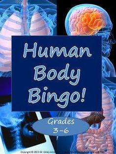 Human Body Systems Bingo | by The Teacher Studio | $2.50