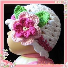 BABY CROCHETED FREE HAT PATTERN - Crochet — Learn How to Crochet