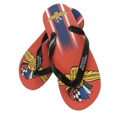 51e49c605a353 Wing Wheel and Flag Big Logo Flip Flops