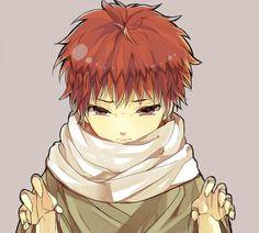Sasori (サソリ, Sasori), renown as Sasori of the Red Sand (赤砂のサソリ, Akasuna no Sasori), was an S-rank missing-nin from Sunagakure's Puppet Brigade and a member of Akatsuki, where he was partnered with Orochimaru and later, Deidara.
