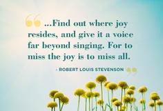 Joy oh joy...