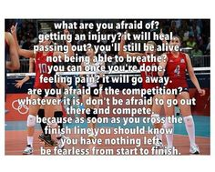 one of my favorite volleyball quotes ever! WHS Lady Bulldog Volleyball - You… Volleyball Training, Volleyball Memes, Play Volleyball, Coaching Volleyball, Basketball Quotes, Volleyball Players, Girls Basketball, Girls Softball, Soccer