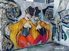 On www.idea.cat #MissVan #london #streetart #graffiti