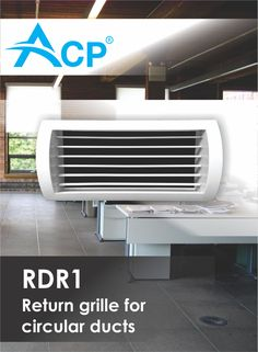 Return grill for circular tubes Air Supply, Ventilation System, Tube, Conditioner, Home Appliances, House Appliances, Appliances