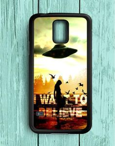I Want To Believe X Files Samsung Galaxy S5 Case