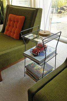 Living room | Gunlocke chairs, early or mid-'50s | Greg McKinney | Flickr