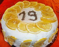Citromos mascarpone krém torta 🍋 Cooking, Cake, Desserts, Food, Mascarpone, Kitchen, Tailgate Desserts, Deserts, Kuchen