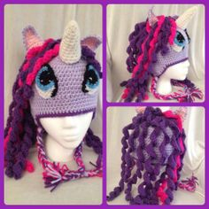 Twilight Sparkle My Little Pony ~ love how this turned out!  Pattern credit - briabby.com
