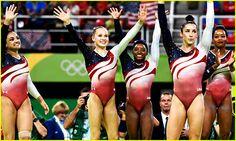 USA Women's Gymnastics Team Wins Gold Medal at Rio Olympics 2016!