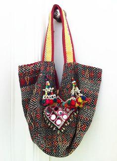 Table Tonic - vintage tribal shoulder bag