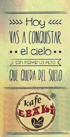 Hoy vas a conquistar el cielo ... #AllYouNeedIsLove #Love #Tuesday #Arrimartes #Sunshine #SemanaSanta #Spring #Desayunos #Breakfast #Yommy #ChaiLatte #Capuccino #Hotcakes #Molletes #Chilaquiles #Enchiladas #Omelette #Huevos #Cafe Pendiente - Mexico #Malteadas #Ensaladas #Coffee #CDMX #Gourmet #Chapatas #Cuernitos #Crepas #Tizanas #SodaItaliana #SuspendedCoffees #CaféPendiente Twiitter @KafeEbaki…