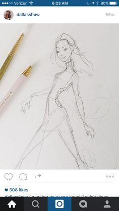 Fashion pre sketch