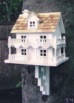 Home Bazaar Novelty Cottage Bird House at BestNest.com