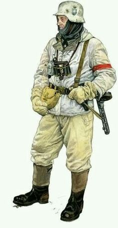 German infantry with a Russian PPSH??