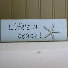 life's a beach with starfish