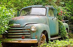 I Love Vintage Trucks...don't know why but I do