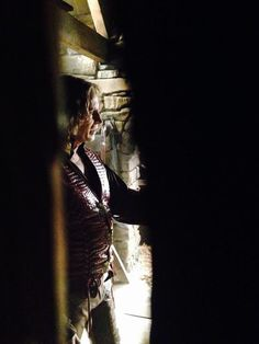 """""""Spying on Rumple rehearsing . Belle French, The Dark One, Rumpelstiltskin, Robert Carlyle, Ouat, Once Upon A Time, The Darkest, Bobby, Cosplay"""