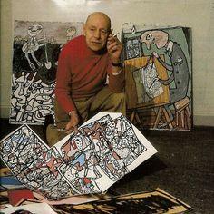 Jean Dubuffet (1901-1985).