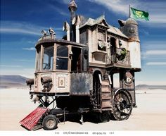 Дом-телега на колесах never was haul