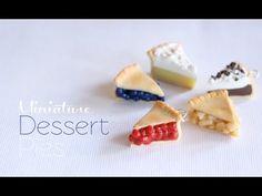 Creating Dollhouse Miniatures: Mini Pies tutorial by Toni Ellison