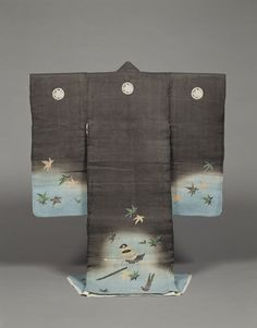 Kimono, Meiji Period, 19th c.  Kyoto National Museum