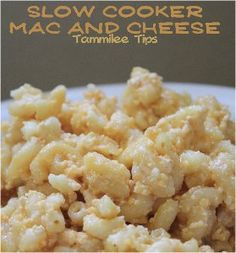 Easy Cheesy Mac and Cheese - This slow cooker mac and cheese recipe is super cheesy and simple to prepare.