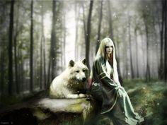Lunar with a lunar wolf!