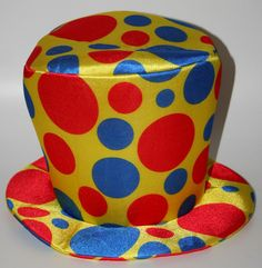 Clown Top Hat foam novelty funny oversized jumbo circus prop costume parade…