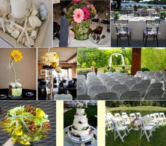 Such great ideas for a summer wedding!