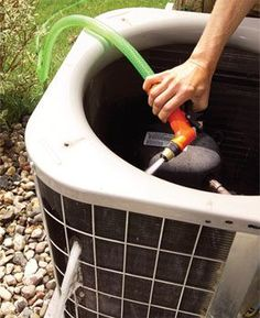 Save money and increase your system's efficiency. Clean Your Air Conditioner Unit yourself. Step by step directions.