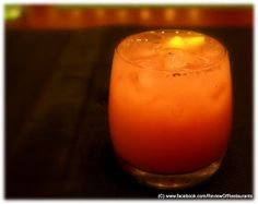 Piru Pyala a 'Desi' twist to a tequila based cocktail.. Read more at http://reviewofrestaurants.blogspot.in  Review of Restaurants: My Place @ Movenpick Hotels & Spa Bangalore - Grand Trunk Road Culinary Trail