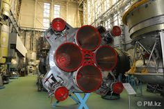 /by Karim Massimov #flickr #Kazakhstan #CCCP #rocket #engine #nozzle #museum