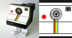 Polaroid Paper Toy