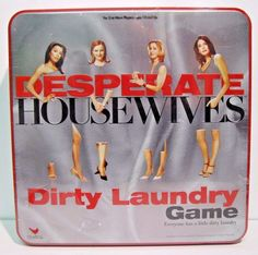 Desperate Housewives Dirty Laundry Game Factory Sealed Comes in Tin Box NEW  #CardinalIndustries