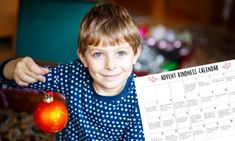 The kids can add some extra sparkle to Christmas with this Kindness Advent Calendar.