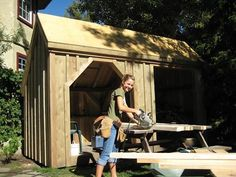 Looking to build? We have you covered. Get our Step-by-Step DIY Shed Plans with FREE SHIPPING now. Jamaica Cottage Shop offers plans for all of our post-and-beam Sheds, Cottages and more!
