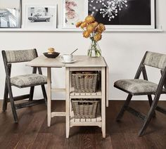 Pottery Barn's new size-conscious range ideal for apartments. #mypotterybarn