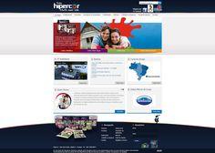 Criação de diversas campanhas de e-mail marketing e ações para facebook. Link • www.hipercor.com.br