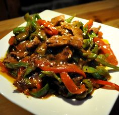 Black Pepper Beef Stir-fry_Beef Recipes_China Food Menu - best chinese food and chinese recipes