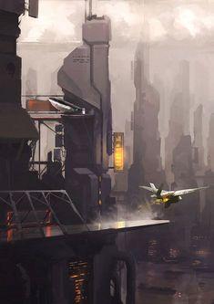 Cyberpunk, Futuristic City More